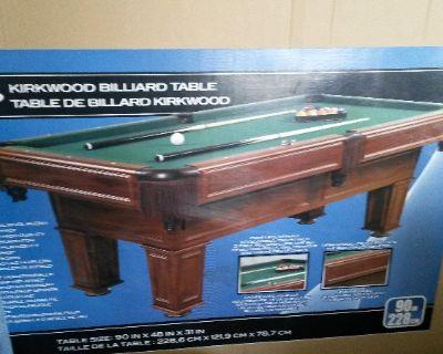 Halex Kirkwood Pool Table