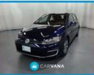 2019 Volkswagen e-Golf Blue, 7K miles
