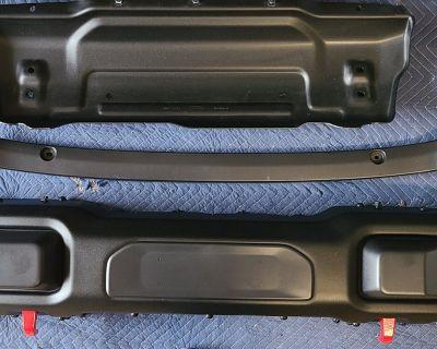 Georgia - Rubicon Steel Front Bumper and Winch plate