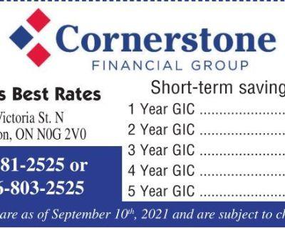 Cornerstone FINANCIAL GRO...