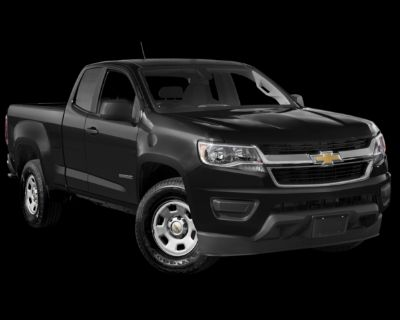 Pre-Owned 2018 Chevrolet Colorado Work Truck RWD