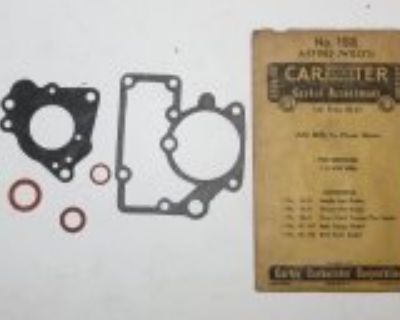Carter Carburetor Gasket Assortments Packard Studebaker Cadillac MOPAR & More