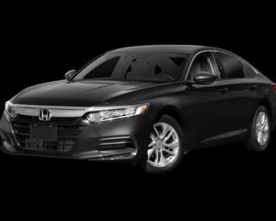 Pre-Owned 2018 Honda Accord LX FWD 4D Sedan