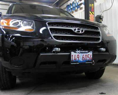 Blue Ox Bx2324 Base Plate For Hyundai Santa Fe 07-09