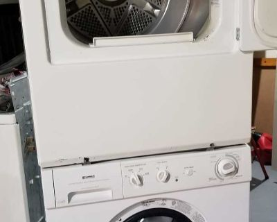 Dryer and washer stackable