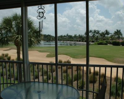 2 BR/ 2 Bath Condo for rent on a championship 18 hole golf course with water acc - Iona
