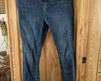 Size 18 bootcut jeans
