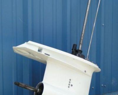 150-225 Hp Johnson Evinrude V6 Outboard Motor 25 Shaft Lower Unit 1989-1999
