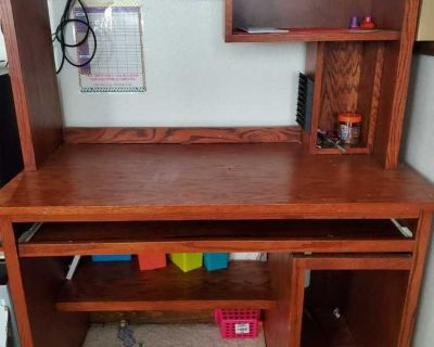 2 Desks with Hutches