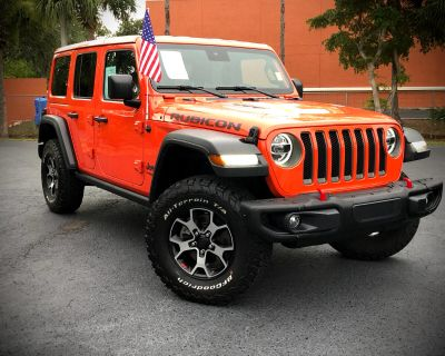 Used 2020 Jeep Wrangler Unlimited Rubicon JL 4x4