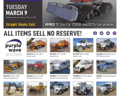 March 9 government auction