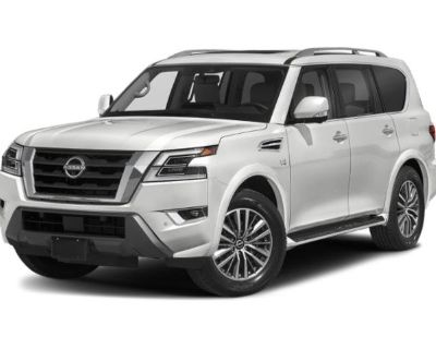 New 2022 Nissan Armada SL 4X4 With Navigation & 4WD