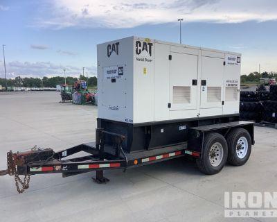 2006 (unverified) Cat XQ 100 100 kW 125 kVA Mobile Gen Set