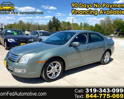 2008 Ford Fusion 4 Dr Sedan V6 SEL FWD Leather & Sunroof