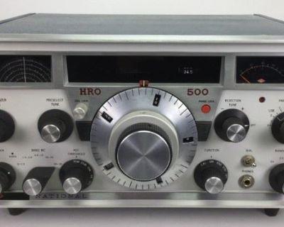 Vintage & Newer Ham Radio Auction, June/July