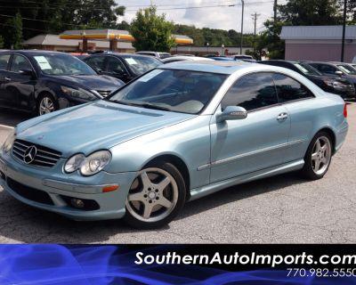 2004 Mercedes-Benz CLK-Class 2dr Coupe 5.0L