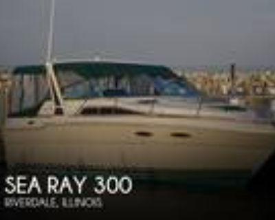 30 foot Sea Ray 300 Weekender