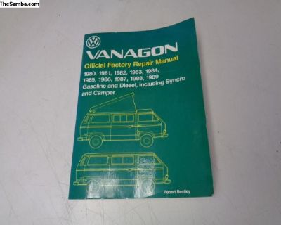 Vanagon 80-89 Gas & Diesel Repair Manual