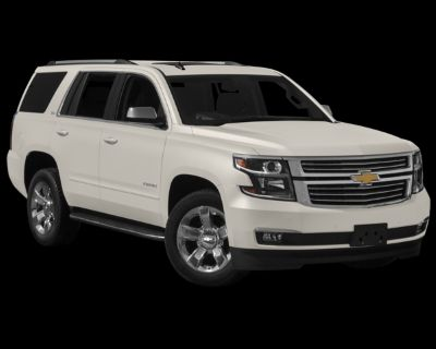 Pre-Owned 2015 Chevrolet Tahoe LS RWD 4D Sport Utility