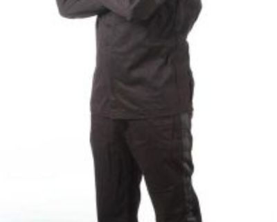 Racequip 2 Piece Single Layer 110 Series Driving Racing Suit Black Size Xxl