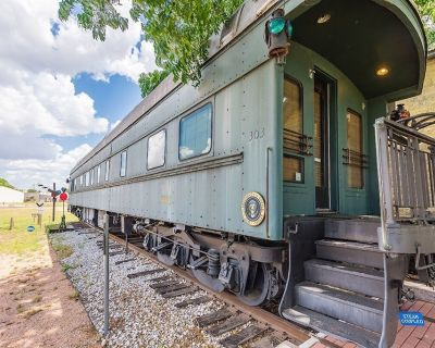 Want to experience what it was like to ride in a Pullman train car? - Fredericksburg