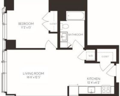 8 Fan Pier Blvd #1920, Boston, MA 02210 1 Bedroom Apartment