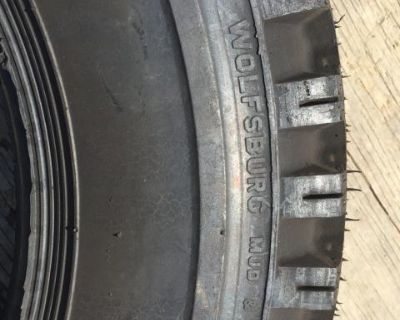 NOS 1 stock tire Wolfsburg 600-15