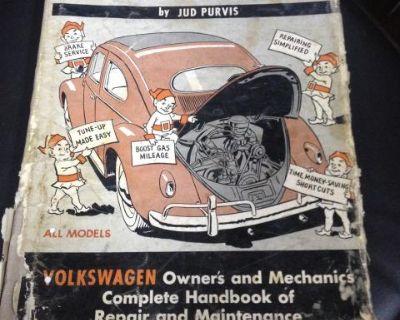 """vintage """"fix your volkswagen"""" book"""