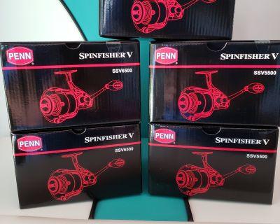 New Penn Spinfisher V 5500 & 6500 Reels