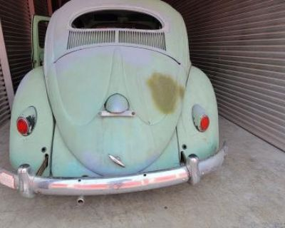 1957 VW Oval ( Resto Project Barn Find )
