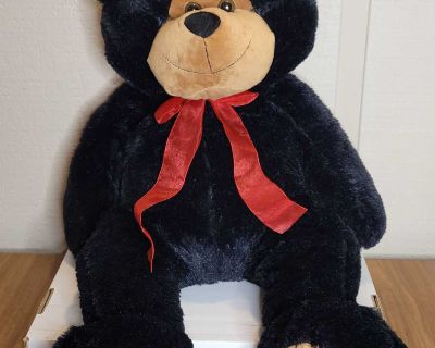 Black Bear Plush Stuffed Toy