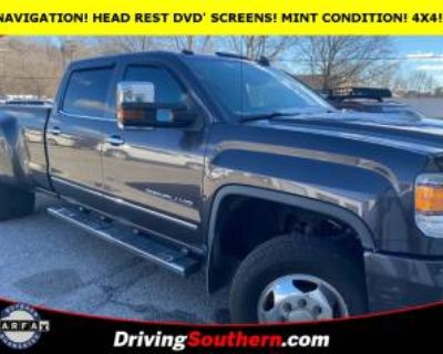 2015 GMC Sierra 3500HD Denali with Available WiFi Crew Cab Long Box 4WD SRW