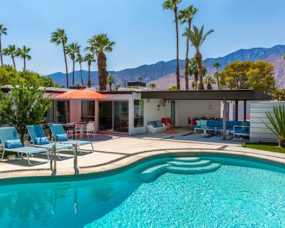 Jolly Rancher at Little Beverly Hills - Fabulous Mid Mod Pool Home! - Palm Springs