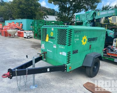 2011 Doosan HP375WJD-T3 375 cfm Mobile Air Compressor
