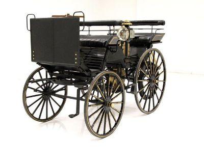 1890 Daimler Four Wheel Automobile Replica
