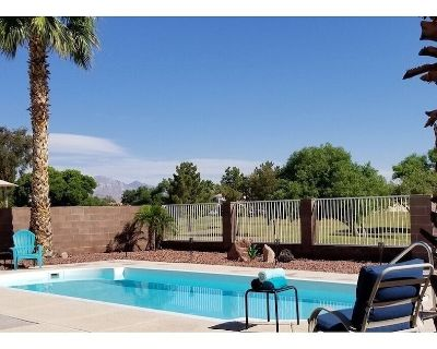 3/2 custom pool home, gated marina. Sleeps 6, Dogs OK, on 40 acre greenbelt - Bullhead City