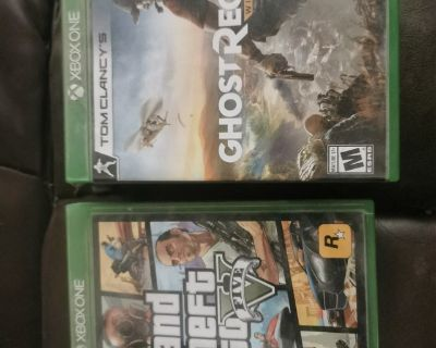 Gta V and ghost recon