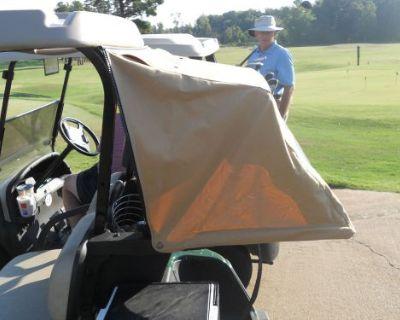 Sunbrella Golf Cart Club Car Prec Cabana Bag Cover Reg. $198 Black Or Toast