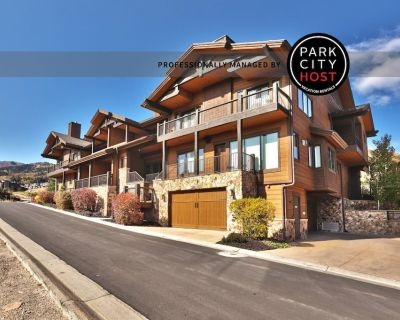 Juniper Landing Townhome - 2 Master Suites - Walk to Waldorf Ski Lift - Park City