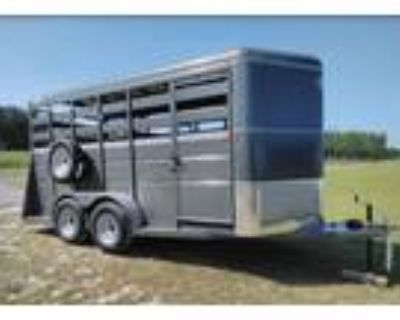 NEW 16 foot long stock trailer for sale