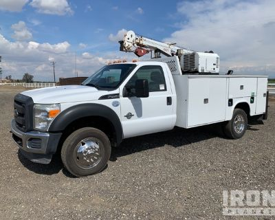 2013 (unverified) Ford F-450 Super Duty XL 4x2 Service Truck w/ Crane