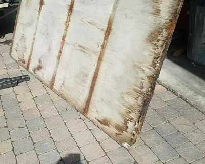 """2 used sheets 3/4"""" PT plywood"""