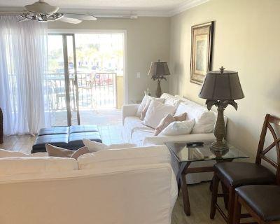 Ocean Villas- Updated and Ocean View 2BR - St. Augustine Beach