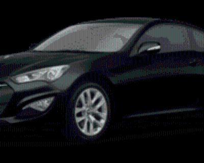2016 Hyundai Genesis Coupe 3.8 Base with Black Seats Automatic