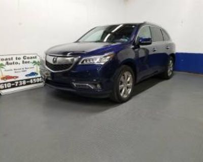2014 Acura MDX SH-AWD with Advance/Entertainment Package