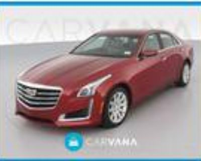 2016 Cadillac CTS Red, 45K miles