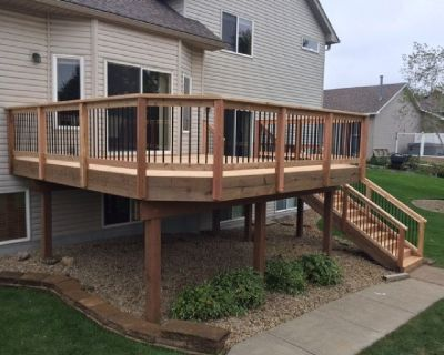 Deck Staining Services MN All The Way From Stumpy's Deck