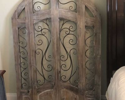 Wood Arch Wall Decor