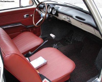 Complete Type 3 Squareback Interior Kit 1966-1967