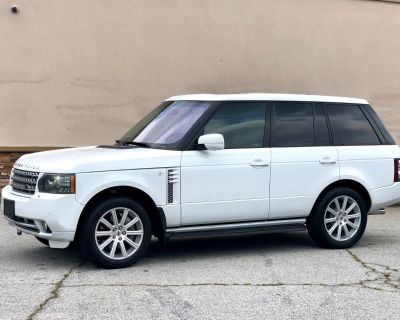 2011 Land Rover Range Rover 5.0L V8 Supercharged HSE LUXURY 4WD